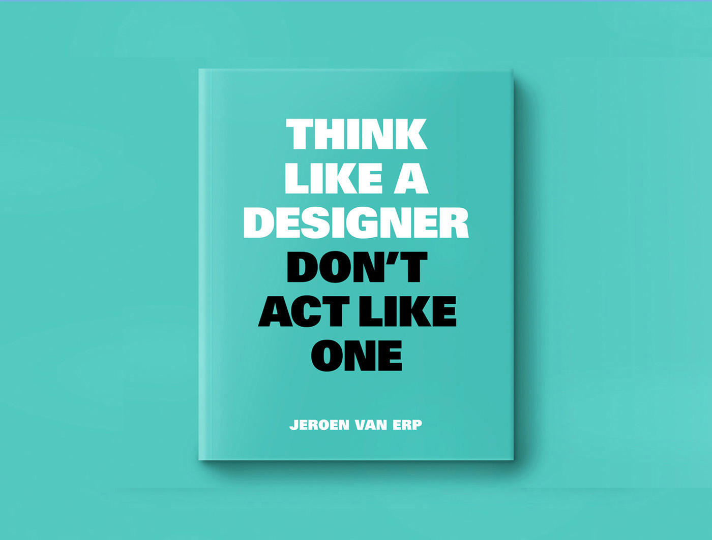 think like a pro - buro van Ons.