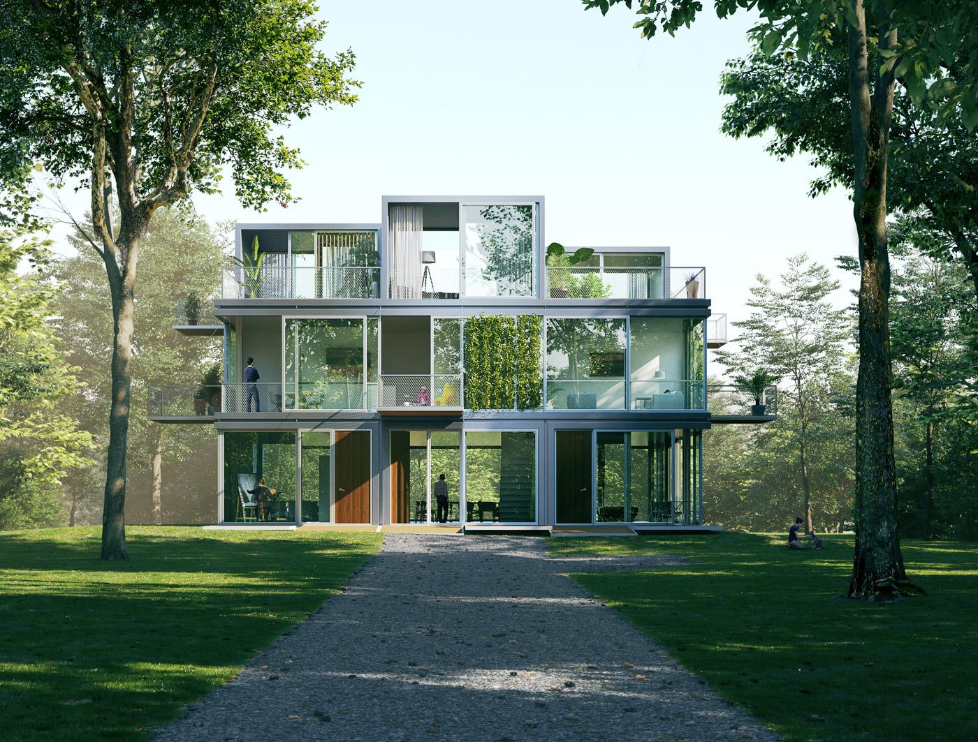universe architecture - buro van Ons.